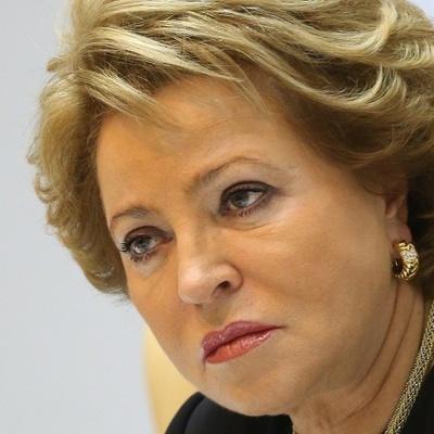 Матвиенко назвала оправданным решение Зеленского распустить Верховную Раду