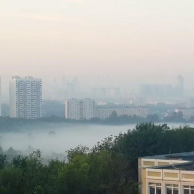 МЧСпредупредило жителей столичного региона о сильном тумане