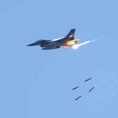 Авиация РФ нанесла удар по террористам в районе города Абу-Кемаль