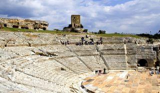 Греческий театр в Саракузах