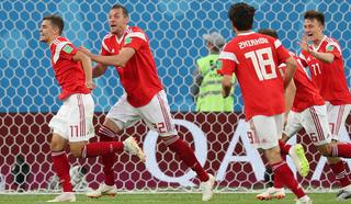Россия – Египет – 1:0. Россияне вышли вперед после автогола