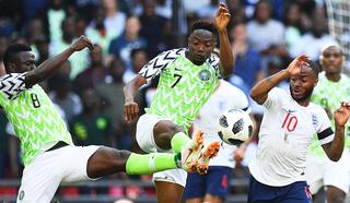 Муса признан лучшим игроком матча между сборными Нигерии и Исландии