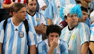 Болельщики Аргентины пропустили матч, уехав в Великий Новгород вместо Нижнего