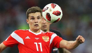 Российский футболист Зобнин стал лидером пробега чемпионата мира