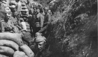 В окопах Первой Мировой войны. Архив Л.Варебруса