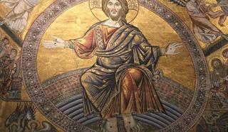 Баптистерий(крестильня). Мозаика «Христос во славе» работы Коппо ди Марковальто. Фото Леонида Варебруса