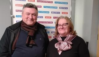 Григорий  Кармазановский и Ольга Копылова