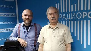 Дмитрий Конаныхин и Дмитрий Леонтьев в студии