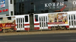 Калининградский музыкальный трамвай. Фото предоставлено Людмилой Осиповой
