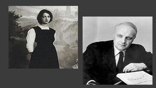 Клара Хаскил  и Робер Казадезюс /ru.m.wikipedia.org/