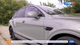Тест-драйв. Bentley Bentayga