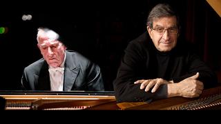 Маурицио Поллини, итальянский пианист, и Малколм Билсон, американский пианист и клавирист /teatroreal.e и last.fm/