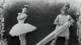 """""""Щелкунчик"""" в  Мариинском театре.Фото 1892. Неизвестный фотограф"""