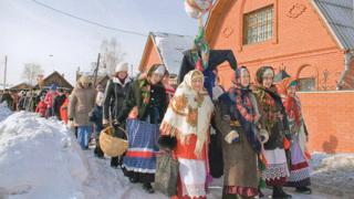 Рождество в селе Овсянка (Россия, Краснодарский край). Фото предоставлено Фондом В. П. Астафьева