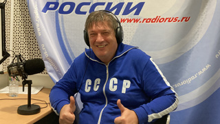 """Борис Березовский в студии """"Радио России"""""""