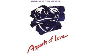 Постер мюзикла ''Лики любви'' (''Aspects Of Love'') британского композитора  Эндрю Ллойд Уэббера