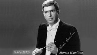 Американский композитор Марвин Хэмлиш (Marvin Hamlisch).
