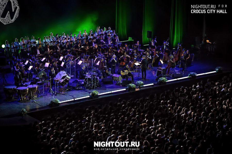 Концерт Бориса Гребенщикова