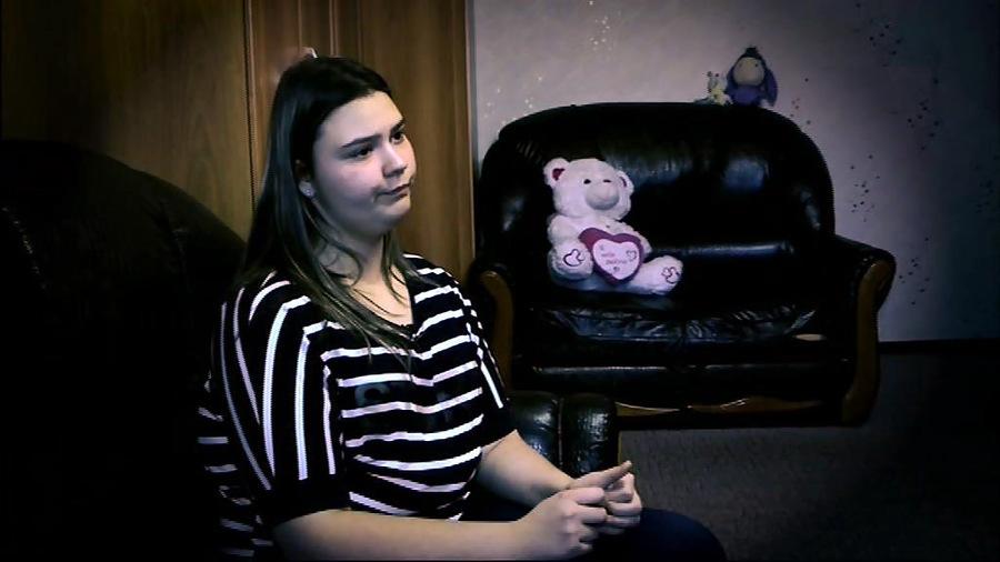 Русскую девочку оттрахали толпой