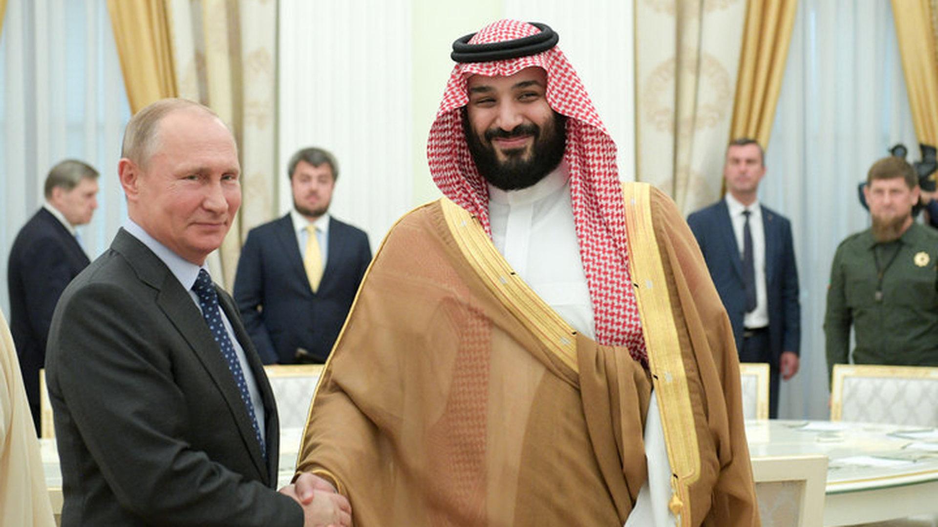 Президент РФ – саудовскому принцу: я не могу пожелать успеха вашей команде