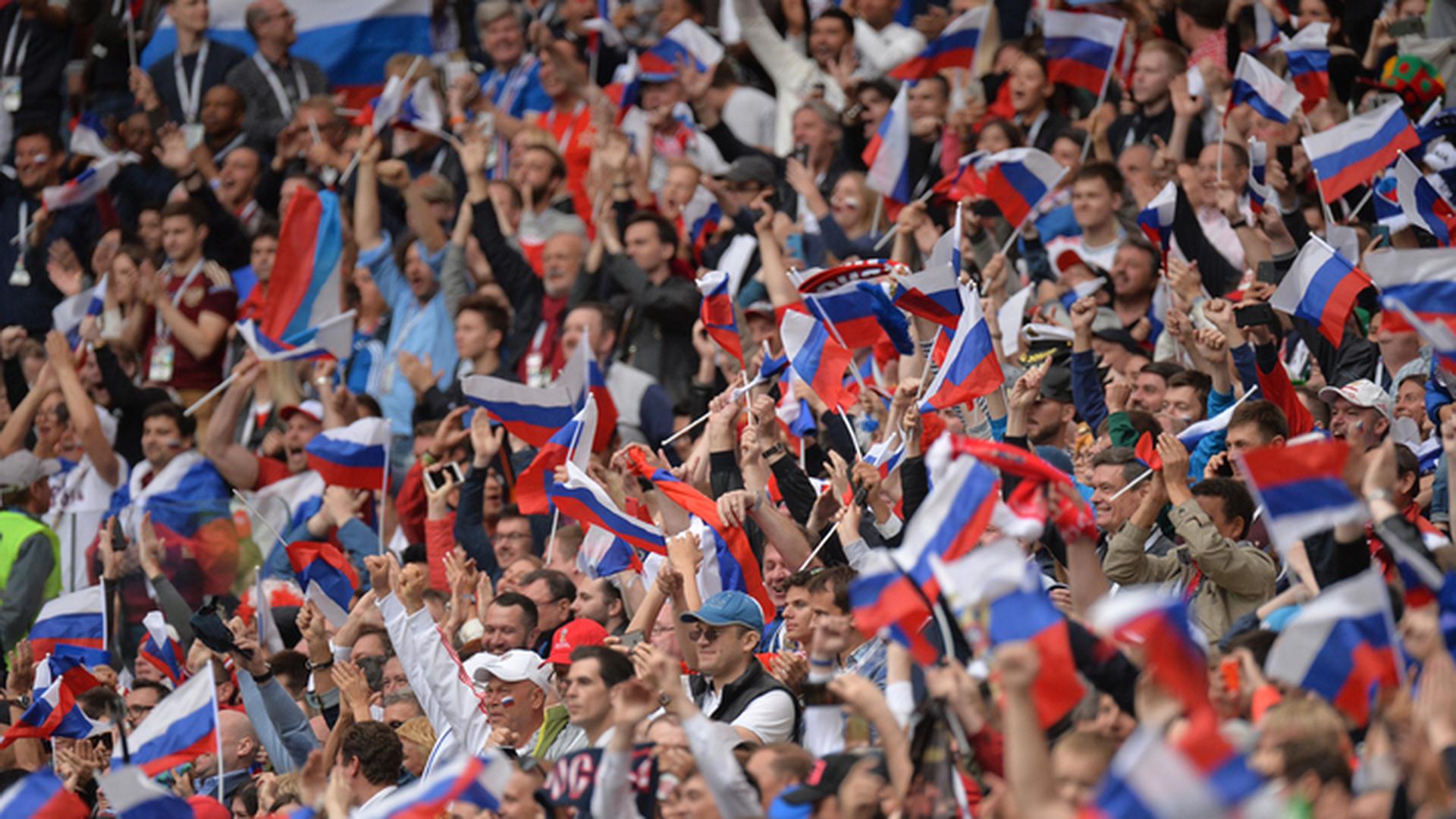 Стартовый матч сборной России посетили свыше 78 000 болельщиков
