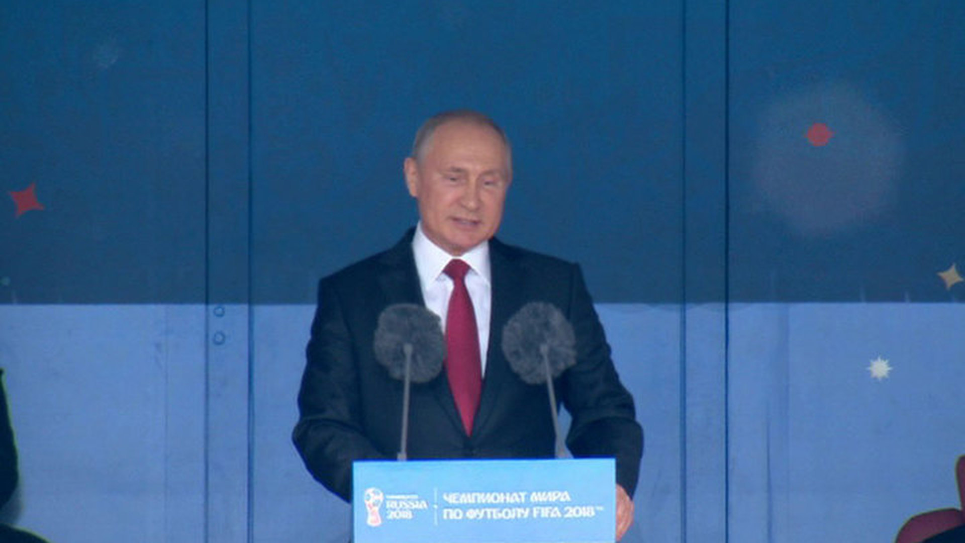 Путин поздравил Черчесова с победой над Саудовской Аравией