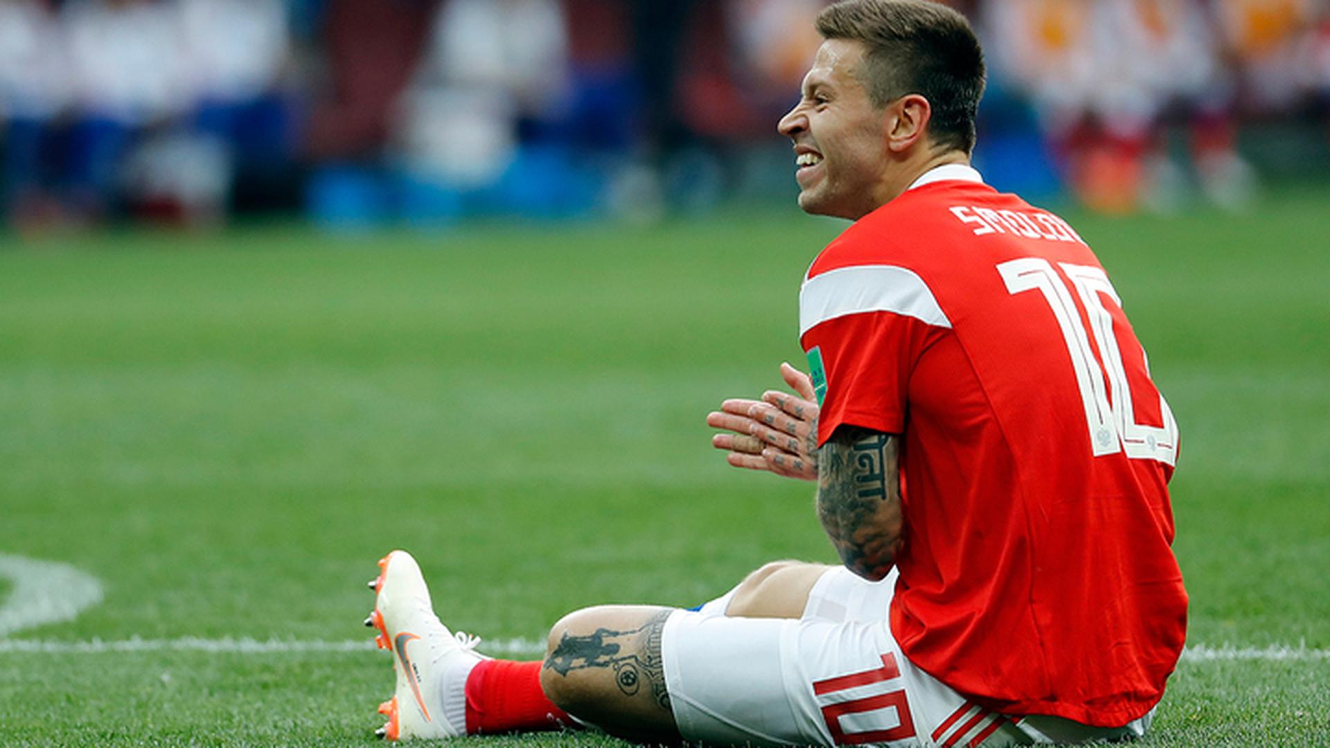 Сборная России сыграет с командой Египта без Смолова