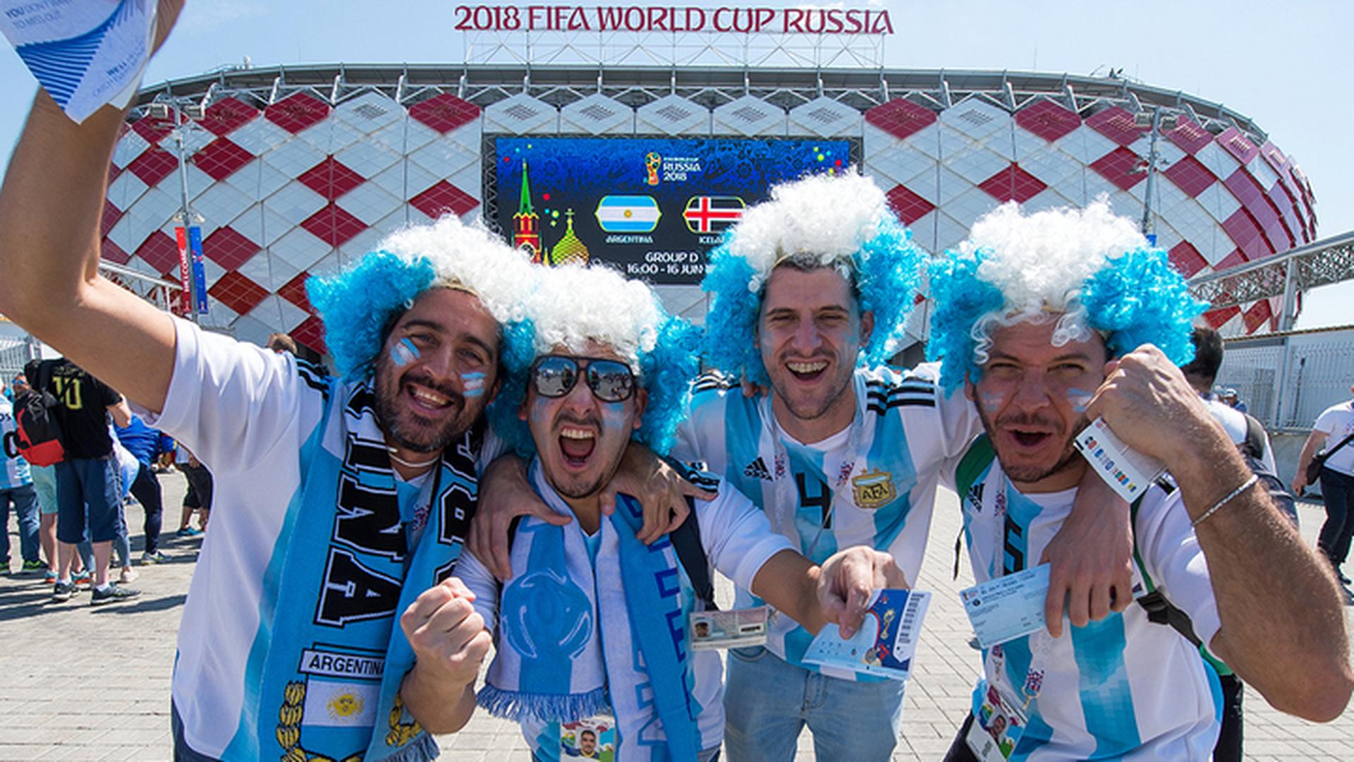 Власти Аргентины просят депортировать из России своих фанатов
