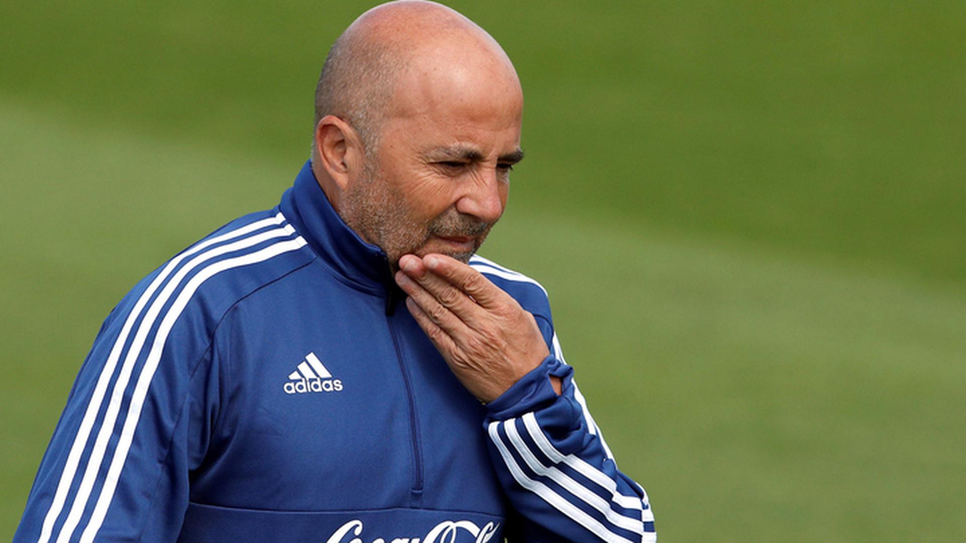 Тренер сборной Аргентины Сампаоли упал в глазах наставника хорватов Далича