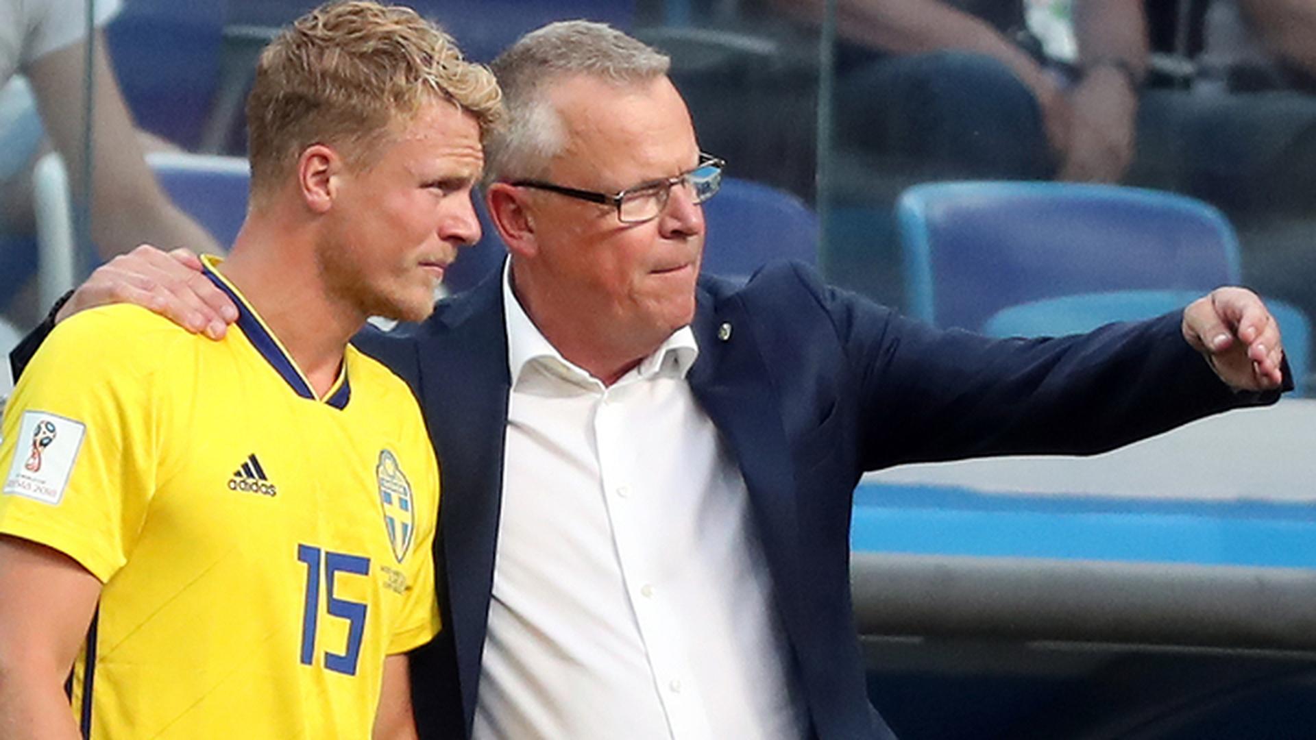 Тренер шведов Андерссон: вся команда заслуживает одобрения и похвалы