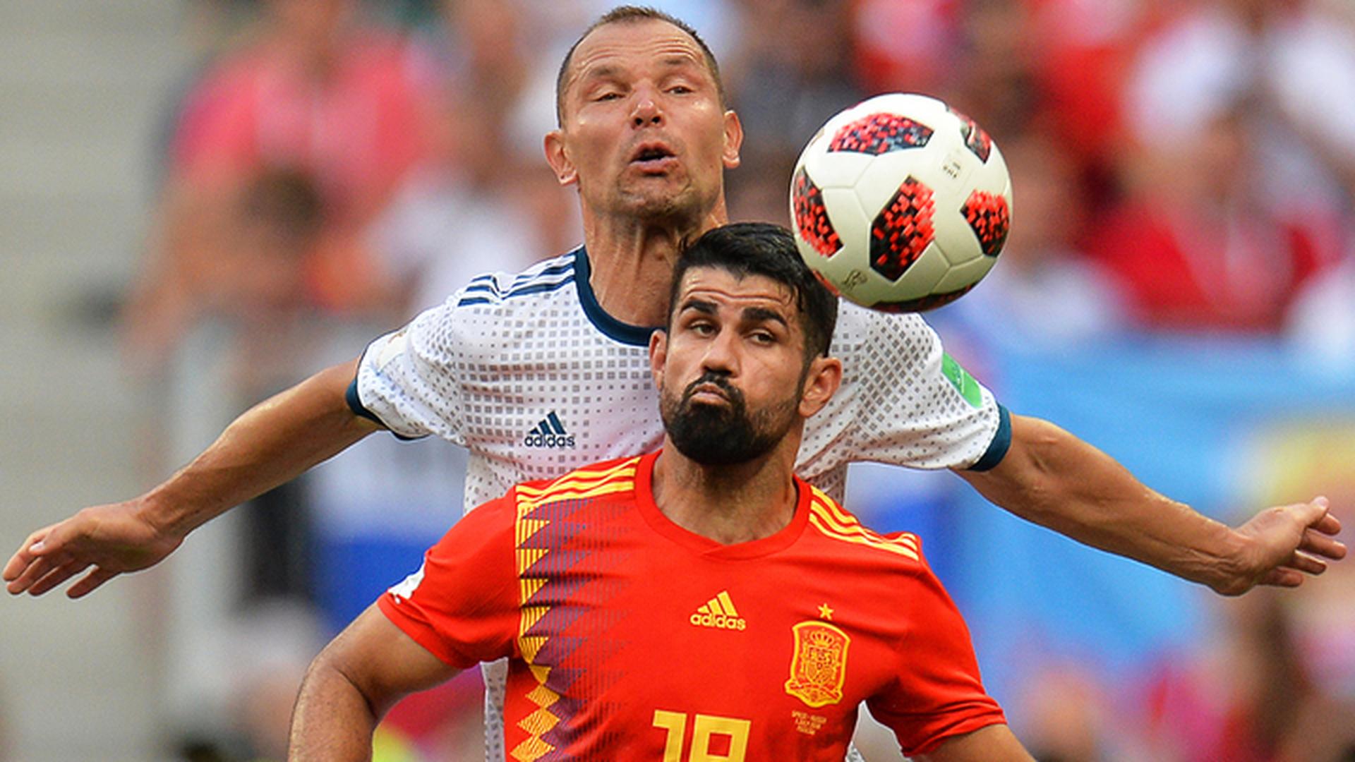 Трансляция игры РФ - Испания стала одной изсамых рейтинговых за20 лет