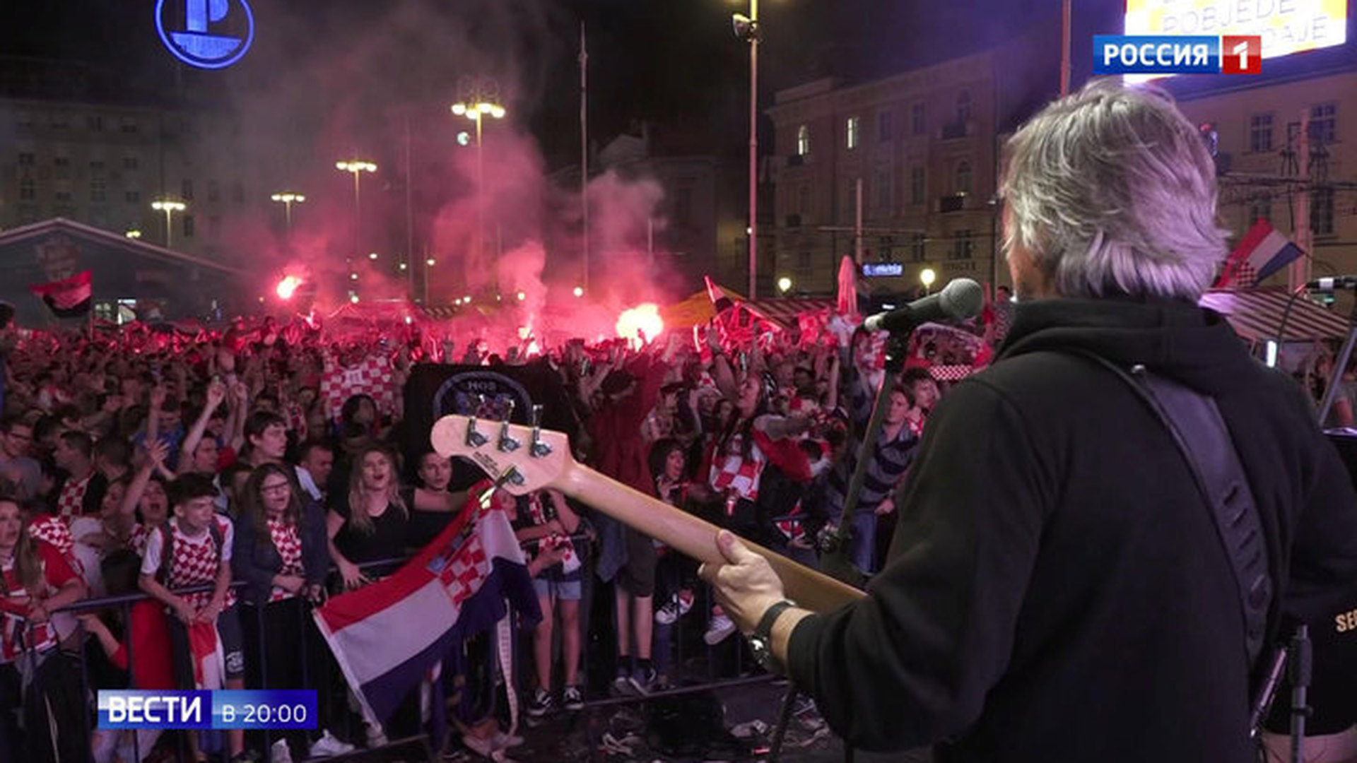 Футбол: Хорватия празднует историческую победу