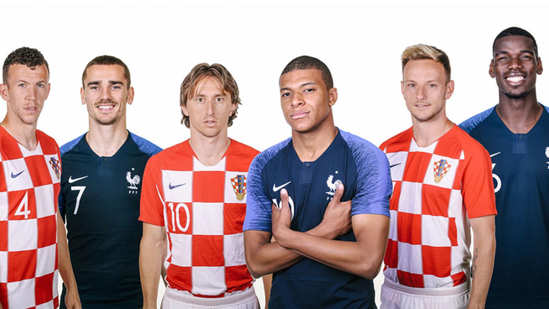 Руководителя МВД Франции иХорватии поспорили, чья сборная победит наЧМ