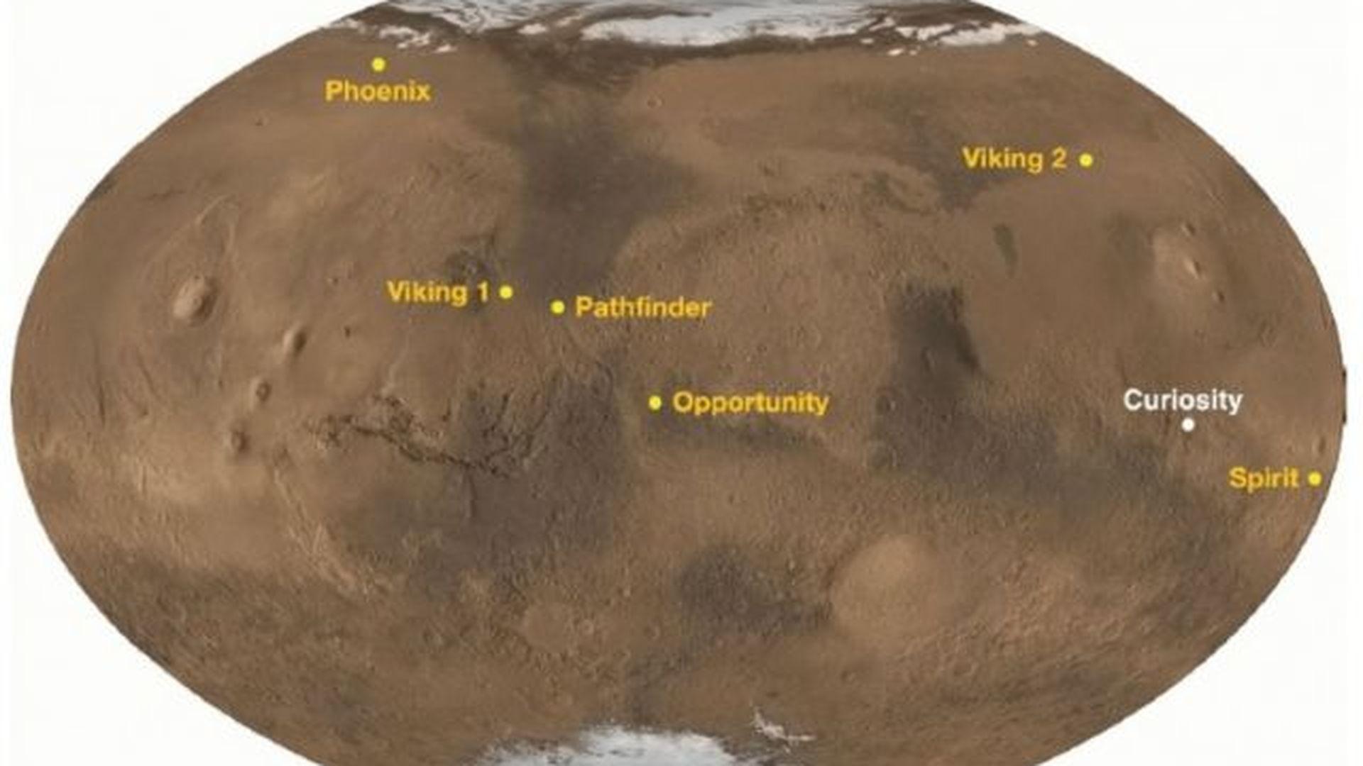 current mars missions - HD1280×782