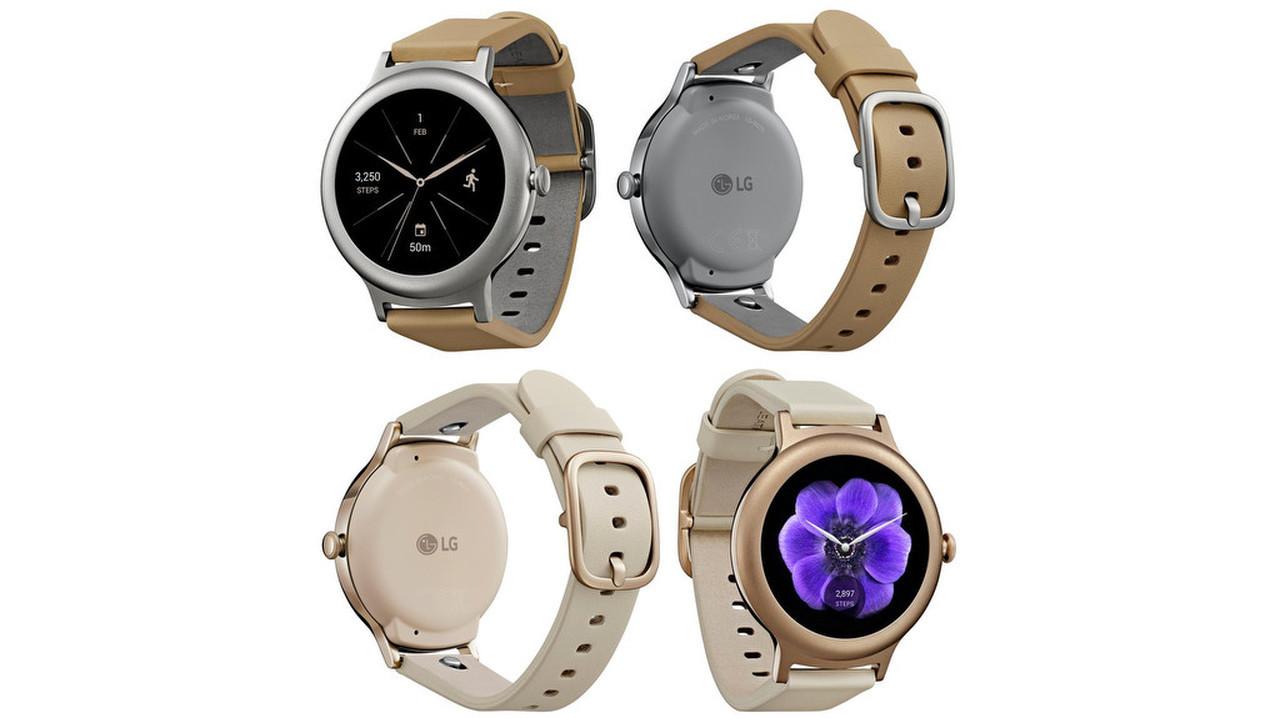 4616314002fa Смарт-часы LG с Android Wear 2.0  официальные фото и цена