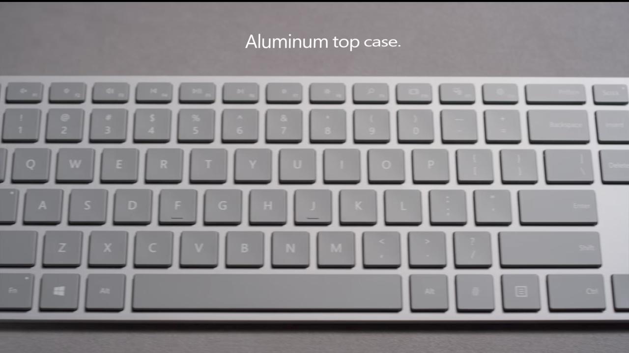 Microsoft Modern Keyboard добавит сканер отпечатков в любой ПК
