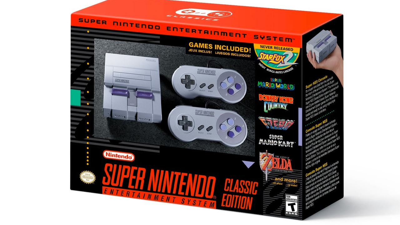 Nintendo выпустит консоль Classic Мини: Super Nintendo Entertainment System