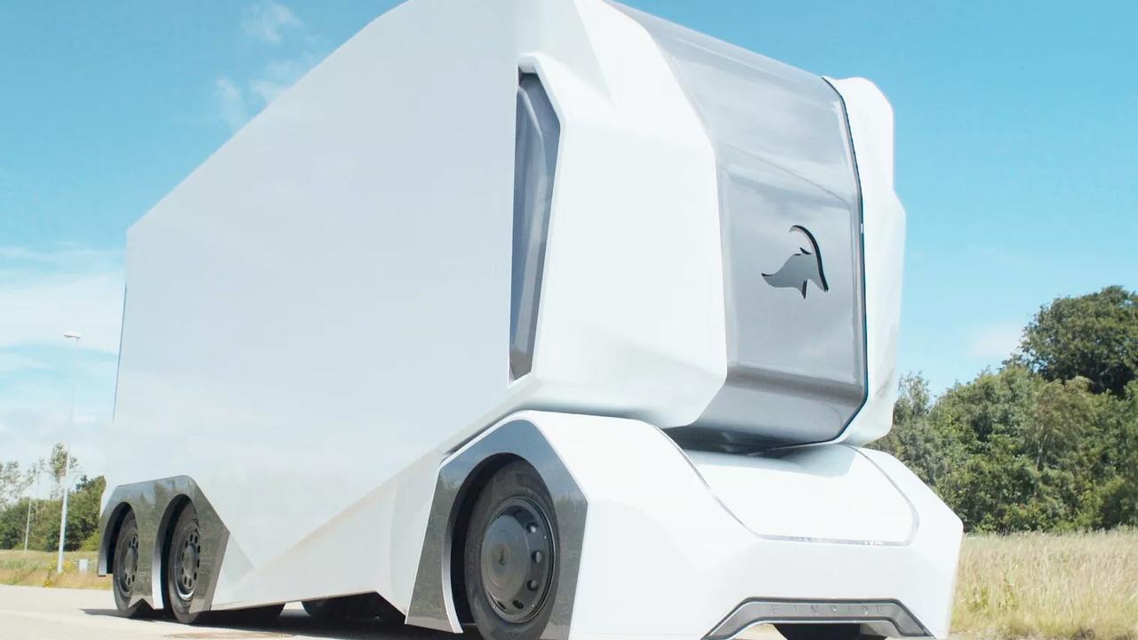 Шведы явили миру фургон без кабины