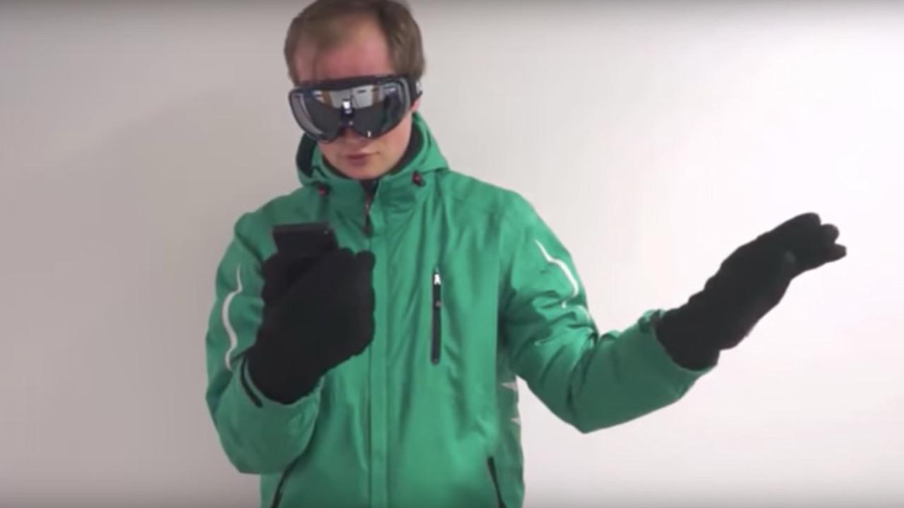 Microsoft представила систему управления телефоном жестами