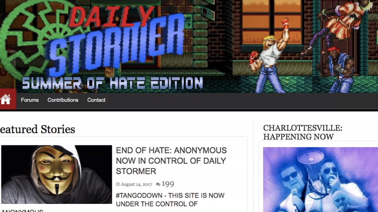 Сайт неонацистов изсоедененных штатов The Daily Stormer переехал на русский домен