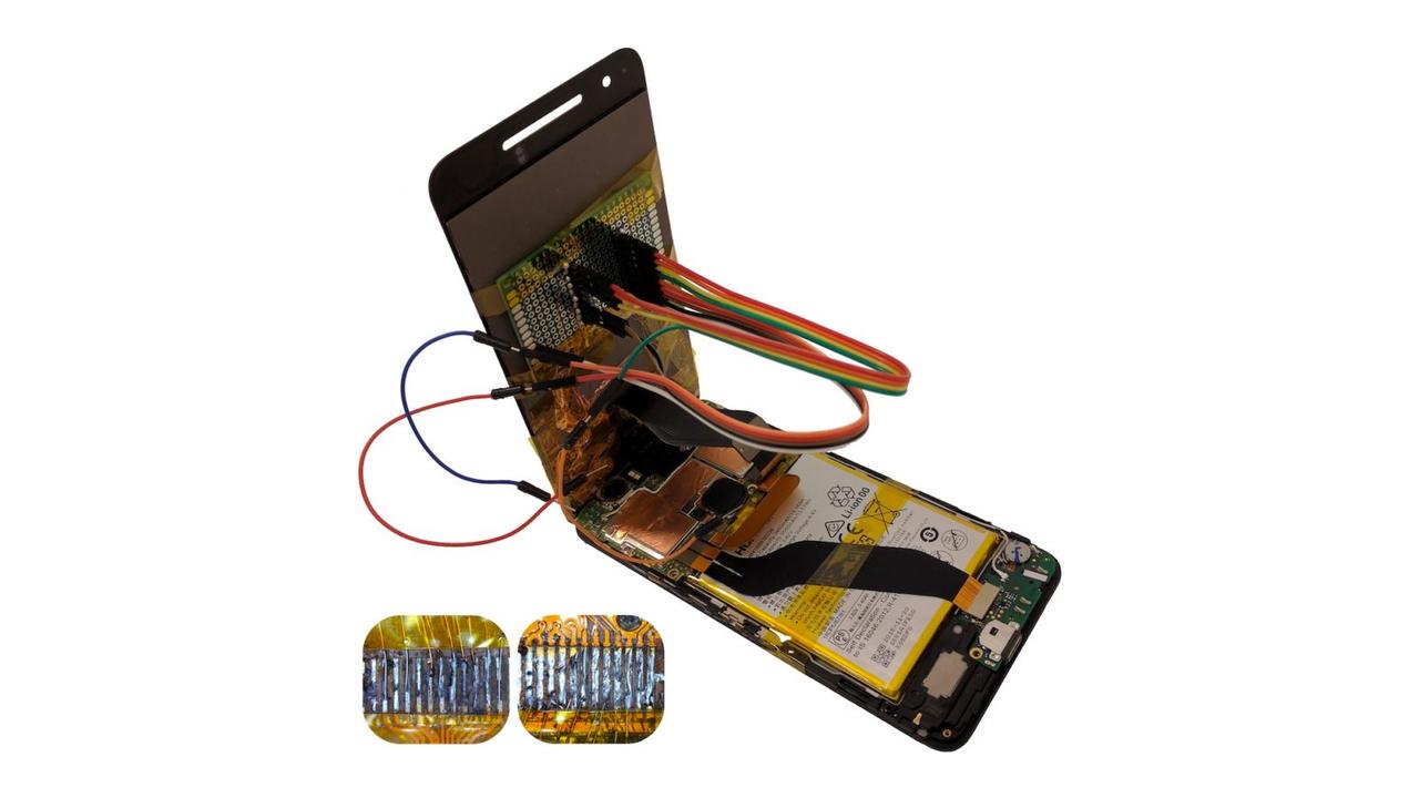 Осторожно: вваш смартфон могут установить «зараженный» экран