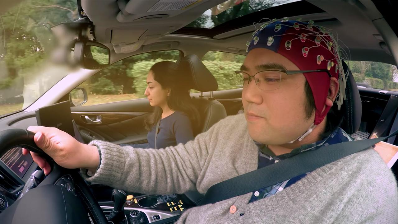 Наследующей неделе Nissan представит систему управления автомобилем спомощью мысли