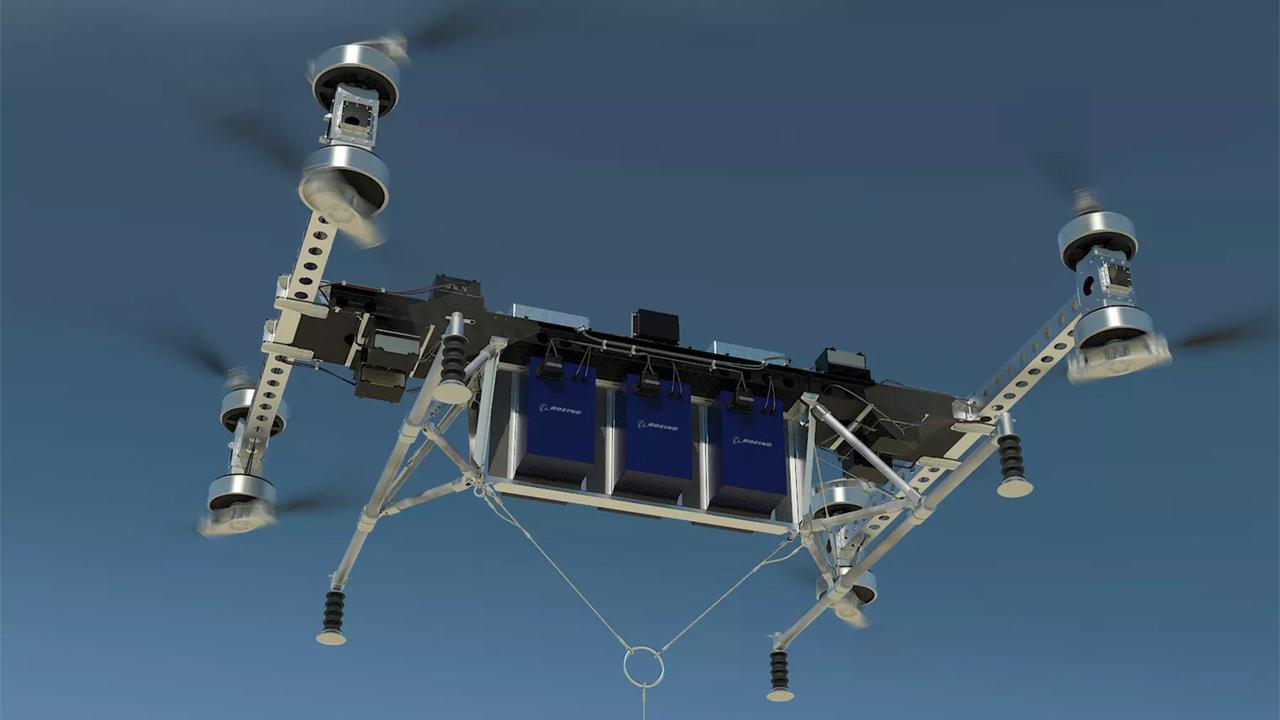 Boeing представила прототип грузового дрона