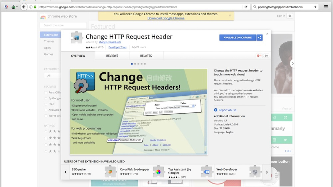 ВChrome Web Store выявлены 4 разрушительных расширения для кликфрода