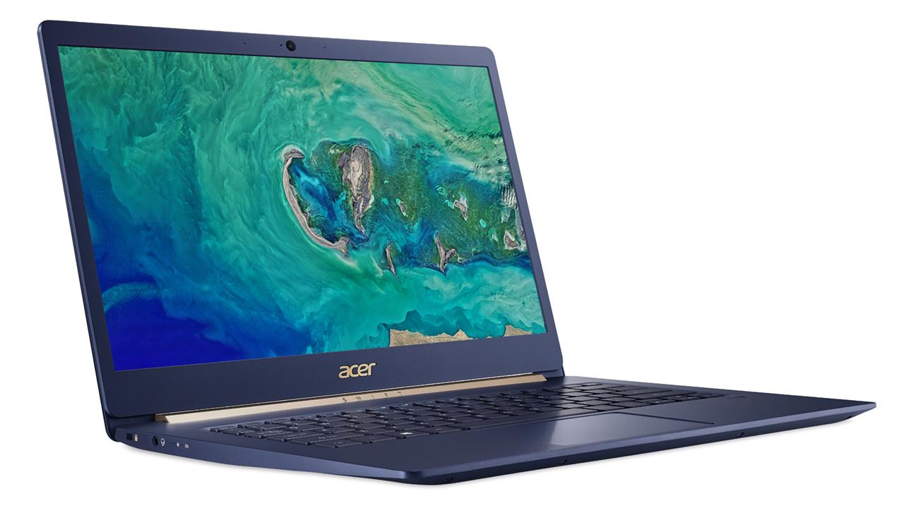 Acer представила легкий ноутбук Swift 5 в Российской Федерации. Цены