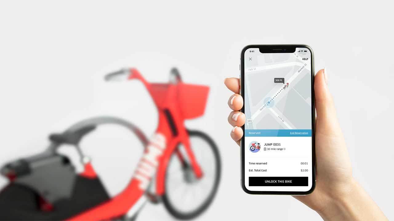 Uber будет заниматься прокатом электрических велосипедов