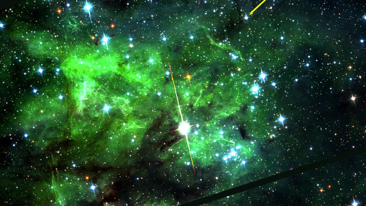 Учёные открыли самую быстровращающуюся звезду