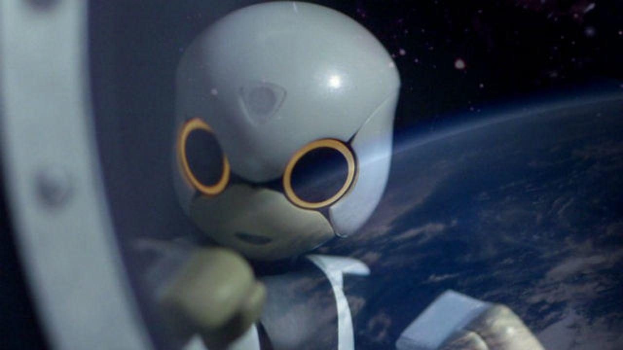 На МКС впервые отправится говорящий робот