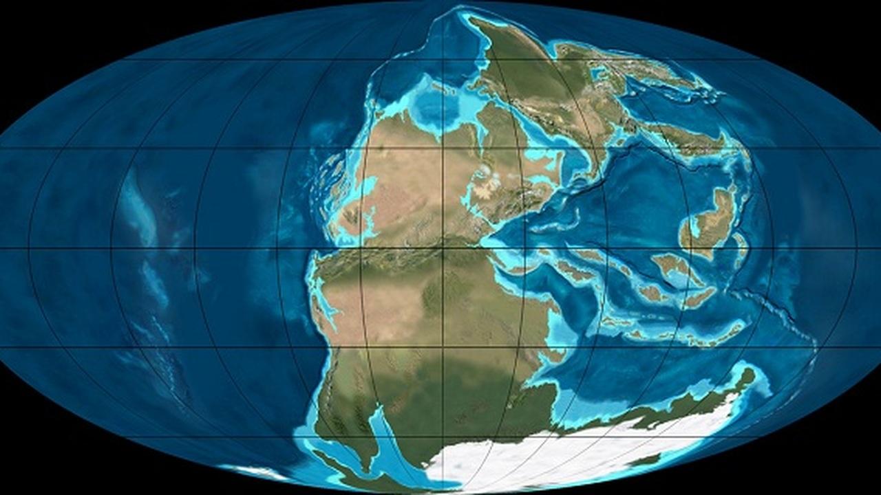 Образование сверхконтинента Пангеи стало причиной величайшего вымирания на Земле