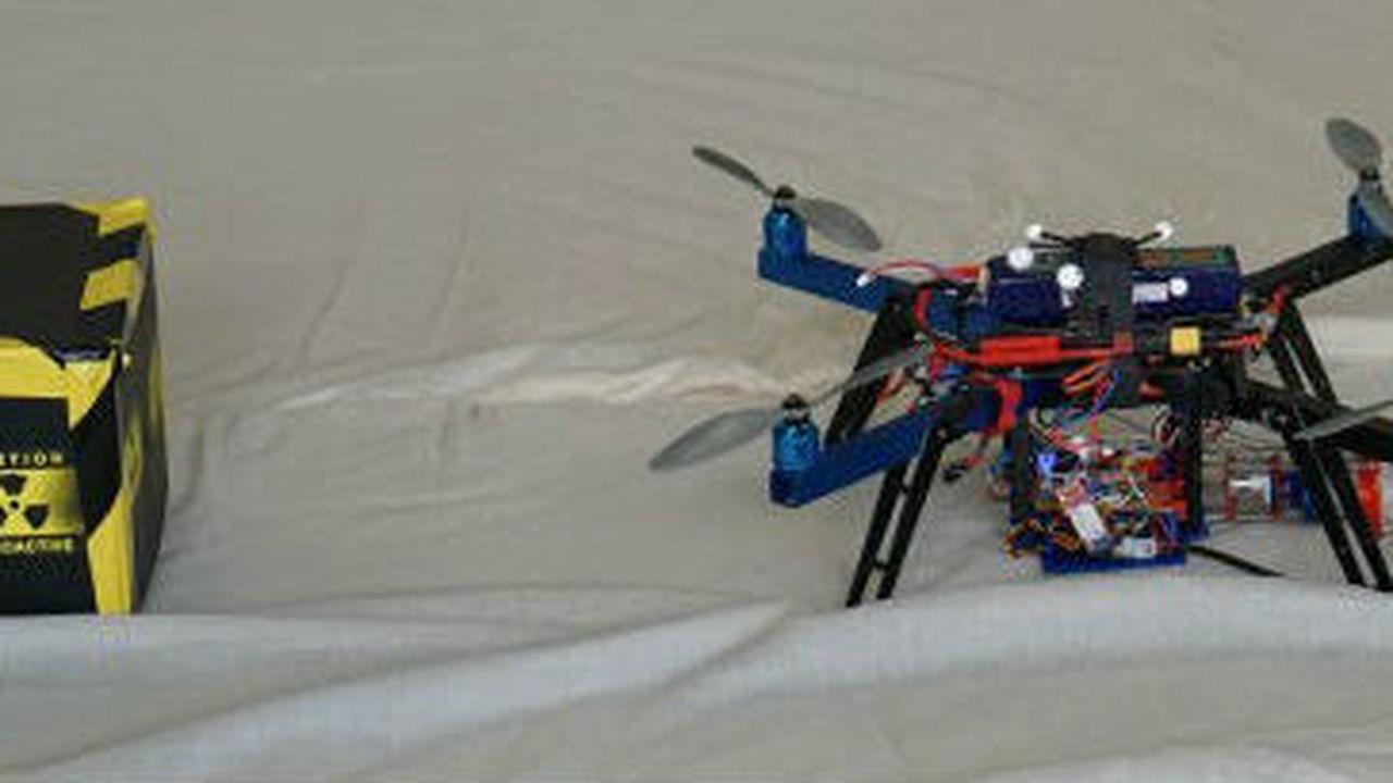 Британцы создали летающий 3D-принтер